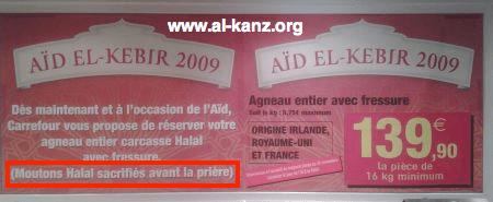 Aïd al-Adha Carrefour
