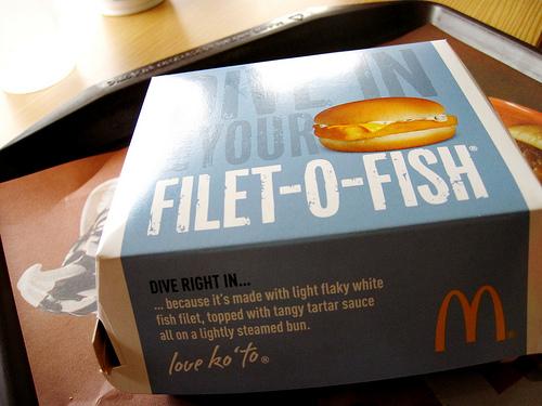 McDo : du porc dans les pains du Filet-o-fish
