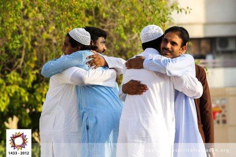 eid prayer spirit of ramadan