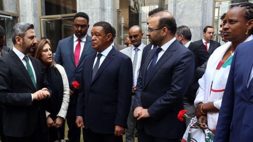 Ethiopian president visits Turkish parliament