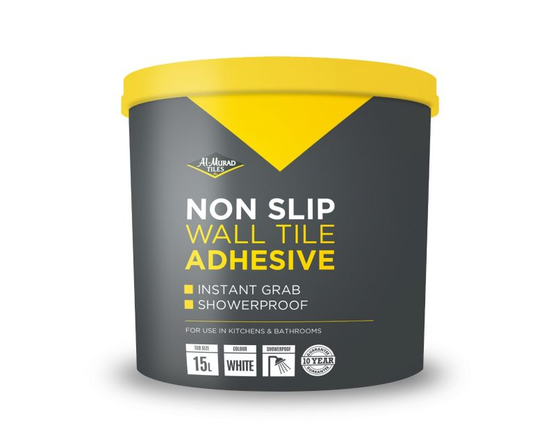 al murad non slip wall tile adhesive 10ltr