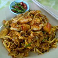Bee Hwa Cafe's signature Char Koay Teow.