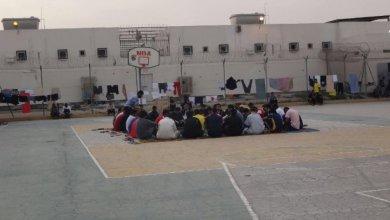 اعتصام للسجناء السياسيين بمبنى 12 بسجن جو المركزي