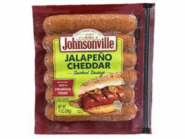 More than 95,000 pounds of jalapeno cheddar smoked sausage is being recalled.