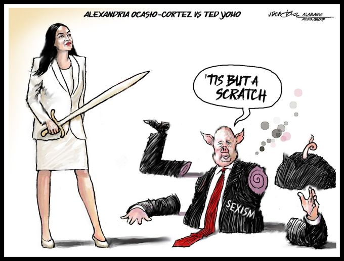 Aoc S I Am A Daughter Speech Dissects Sexism Cuts Ted Yoho Into Pieces Al Com
