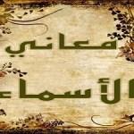 معاني الأسماء: ريان – رميصاء – (رميساء)