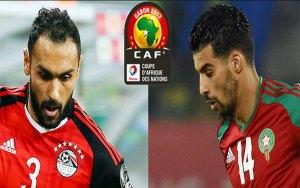بث مباشر : مشاهدة مباراة مصر والمغرب كأس الأمم الأفريقية