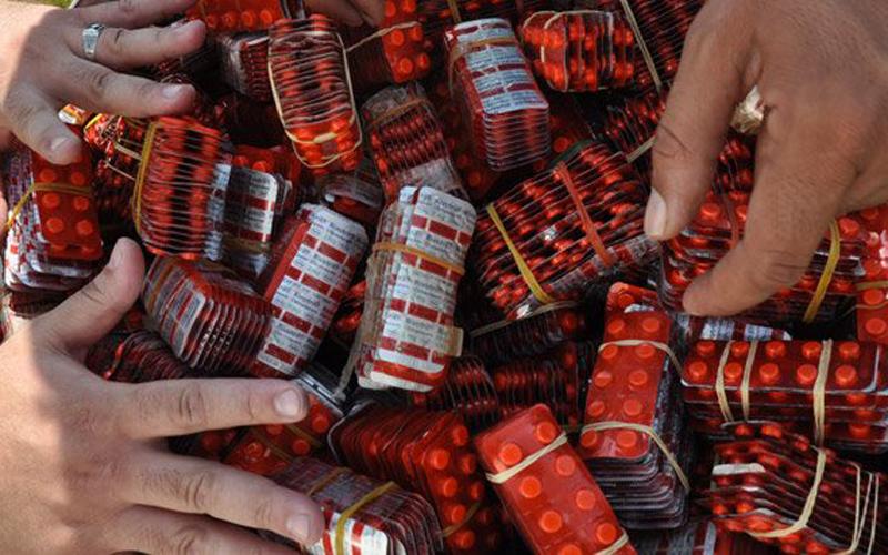 حجز أكثر من 9600 حبة  القرقوبي بسلا خلال يومين فقط وتوقيف ثلاتة أشخاص من بينهم سيدة