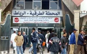 محطة المسافرين القامرة تغلق أبوابها في وجه المسافرين بمدينة الرباط