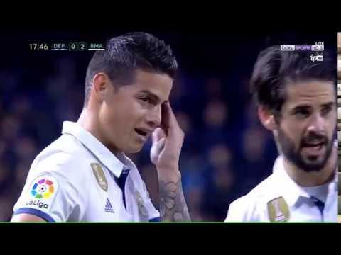 الدوري الاسباني : مباراة ريال مدريد وديبورتيفو لاكورونيا