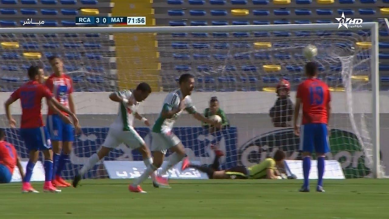 أهداف مباراة الرجاء الرياضي 4-0 المغرب التطواني
