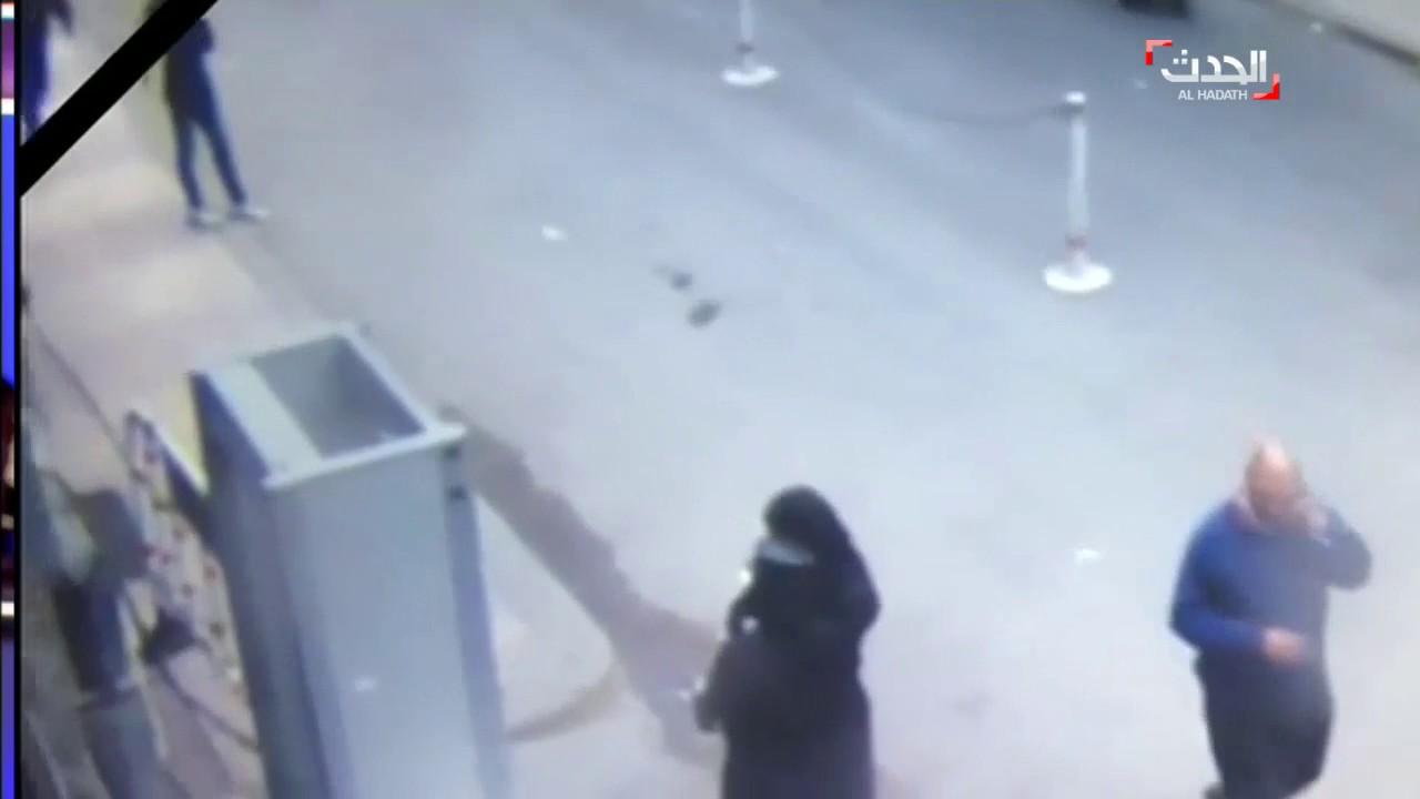 لحظة تفجير الانتحاري نفسه في كنيسة الإسكندرية