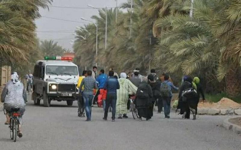 الجزائر تتهم المغرب بالمتاجرة بمأساة اللاجئين السوريين