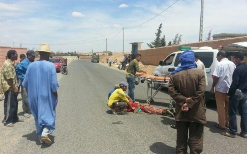 """شيشاوة: سقوط عاملة بإحدى الضيعات الفلاحية من فوق سيارة """"بيكوب"""""""