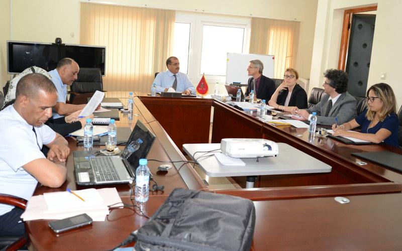 ممثلو البنك الأوربي للاستثمار في جلسة عمل وزيارة تفقدية بأكاديمية سوس