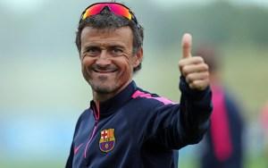 برشلونة يكشف عن خليفة لويس إنريكي