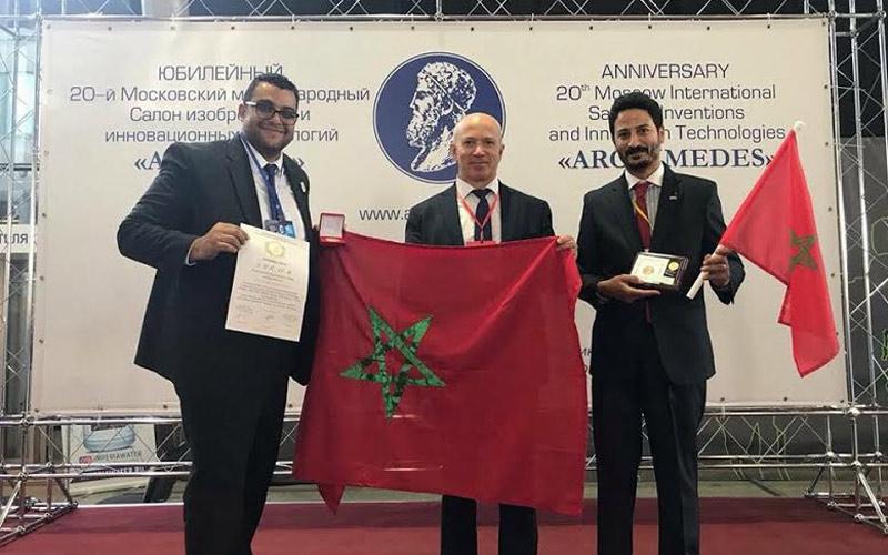 """المغرب يفوز بالجائزة الكبرى الدولية للابتكار التكنولوجي وبالميدالية الذهبية"""" في موسكو"""