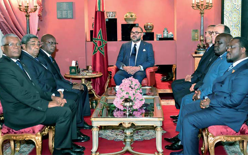 جلالة الملك يستقبل وفدا عن رؤساء الدورة الـ25 للجمعية الجهوية الإفريقية التابعة للجمعية البرلمانية للفرنكفونية