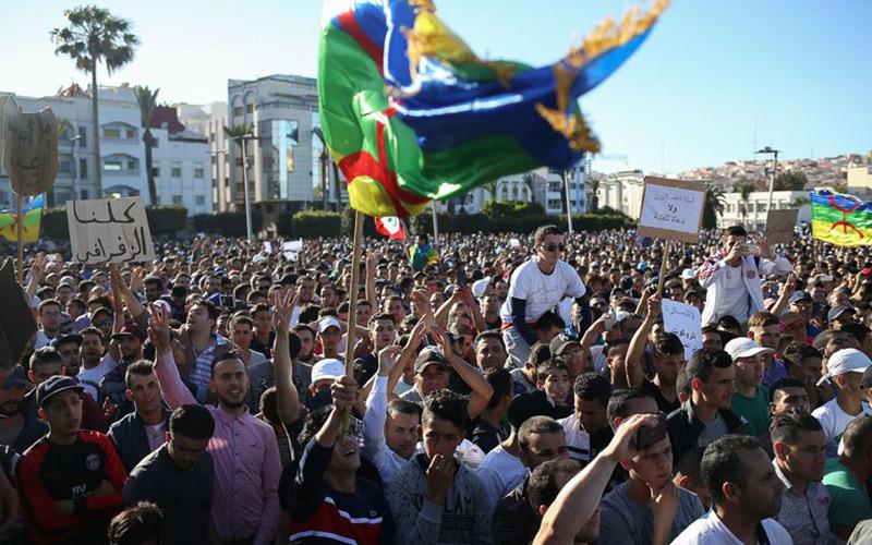 """إعتقال 20 شخصا على خلفية أحداث """"الجمعة الأسود"""" بالحسيمة"""