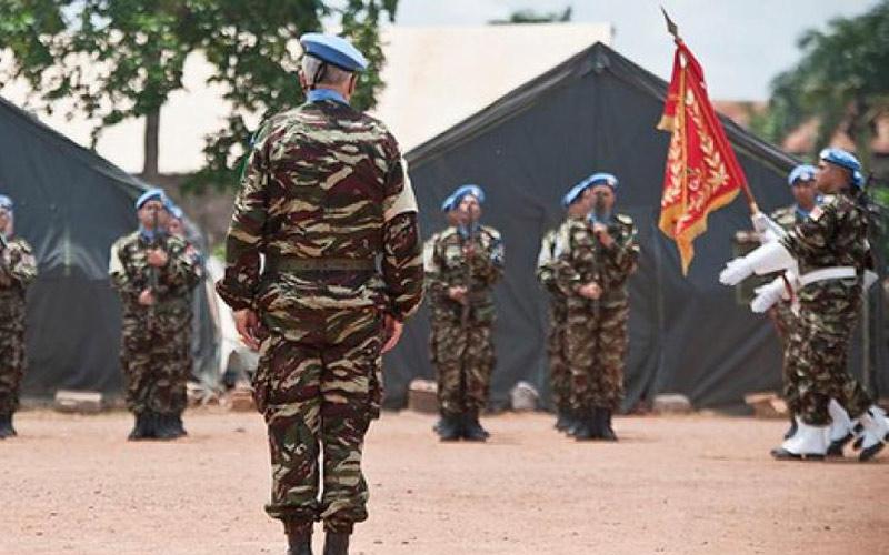 الأمم المتحدة تعرب عن تعازيها للمغرب إثر وفاة عسكري مغربي من قوات حفظ السلام