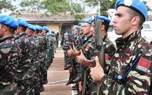 المغرب من جديد يفقد جنديين من القبعات الزرق بإفريقيا الوسطى