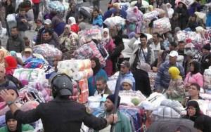 650 عقداً جديداً.. السلطات تواصل إبرام عقود النساء المتضررات من إغلاق معبر سبتة