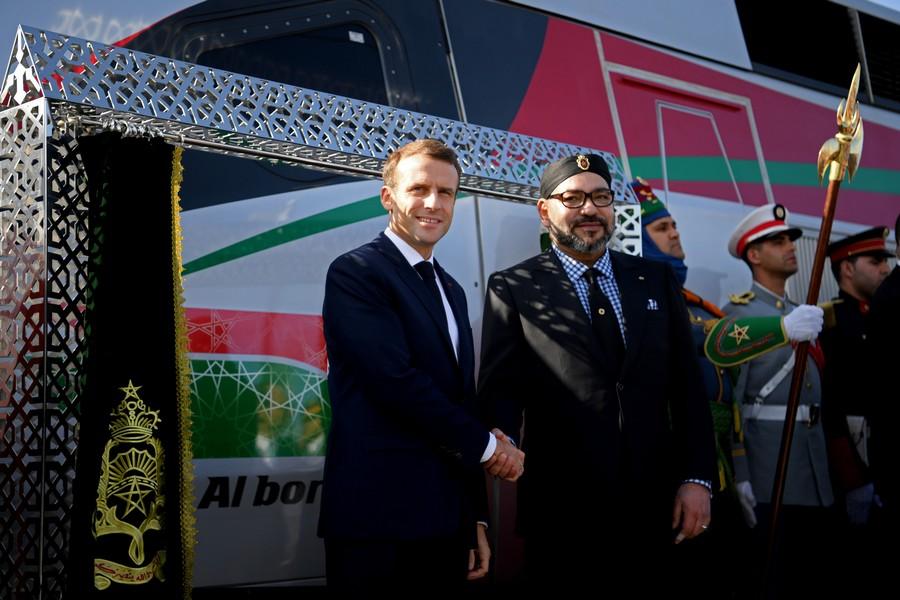 قصر الإيليزيه يحتفي افتراضياً بمراسيم تدشين الملك وماكرون لـ'TGV' البراق