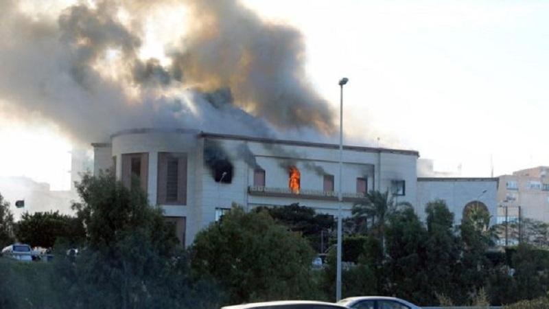 مقتل سيدة مغربية في هجوم استهدف مقر وزارة الخارجية بليبيا
