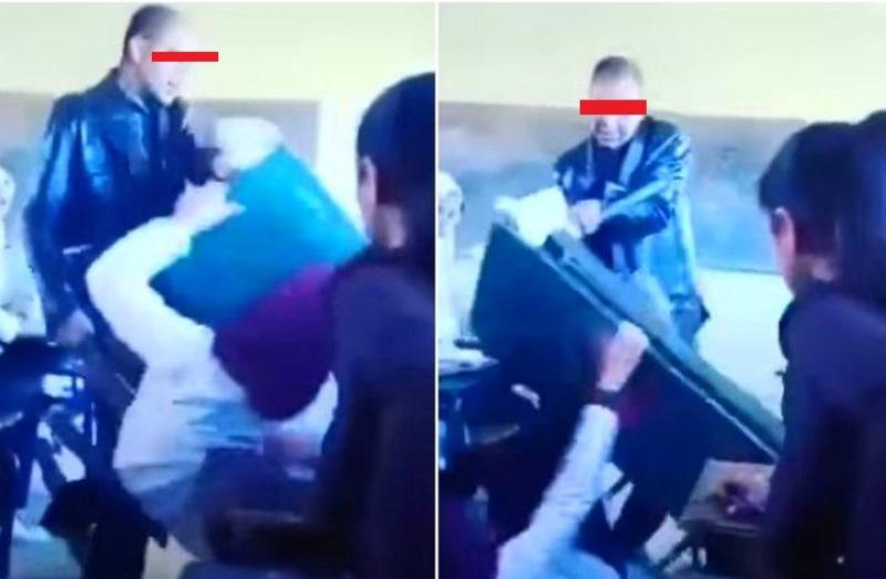 فيديو قليب الطاولة.. الأستاذ تصالح مع التلميذتين ولجنة تحل اليوم بقلعة السراغنة