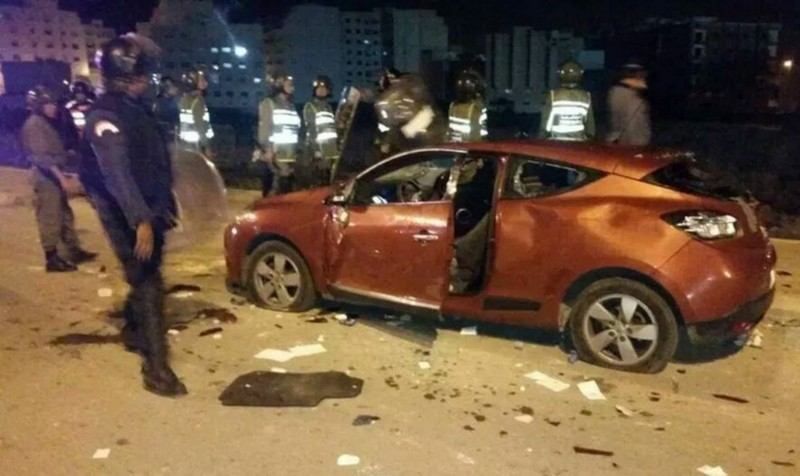 أعمال شغب كروية وتدمير سيارات بسلا تودع 14 مشجعاً السجن