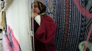 'بوطروش' الأمازيغية.. زربية مغربية تحمل التراث المحلي للعالمية