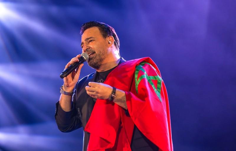 موازين. عاصي الحلاني يتألق فوق منصة النهضة ويبهر الجمهور المغربي