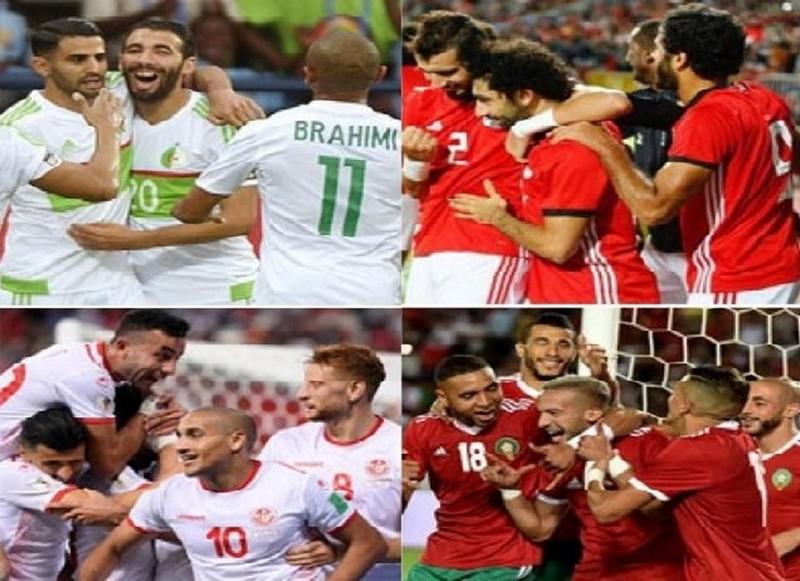 #كان_مصر .. هؤلاء خصوم المنتخبات العربية الأربعة في ثمن النهائي