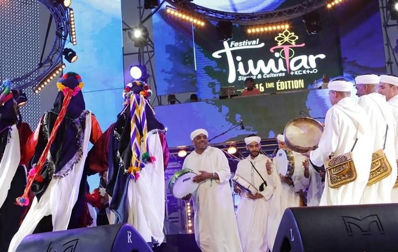 مهرجان تيميتار بأكادير يحتفي بالتراث اللامادي الأمازيغي للروايس