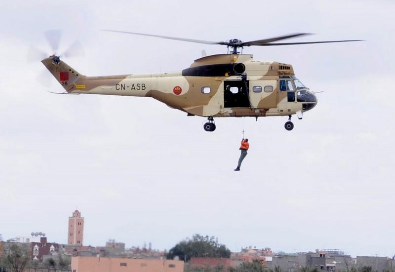 """عمالة تارودانت: استخدمنا مروحية وطائرة """"defender"""" لإنقاذ ضحايا الفيضانات"""