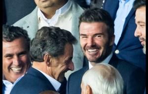 بجانب الأمير تميم وبيكهام وساركوزي ومشاهير العالم.. هكذا شاهد أخنوش مباراة PSG والريال