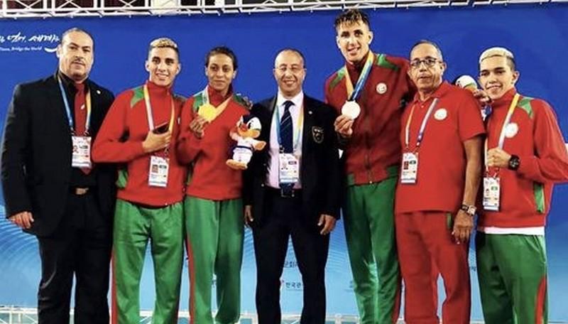 'المحاربة' أميمة تهدي المغرب الذهب في بطولة العالم بكوريا الجنوبية