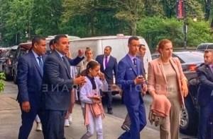 ظهور لالة سلمى رفقة ولي العهد ولالة خديجة بمنهاتن الأمريكية يفرح المغاربة
