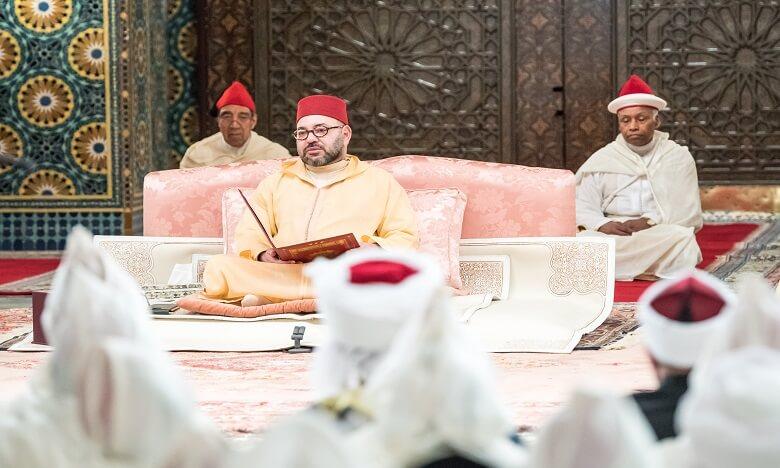 الملك يترأس ليلة احياء ذكرى المولد النبوي بقصر مراكش