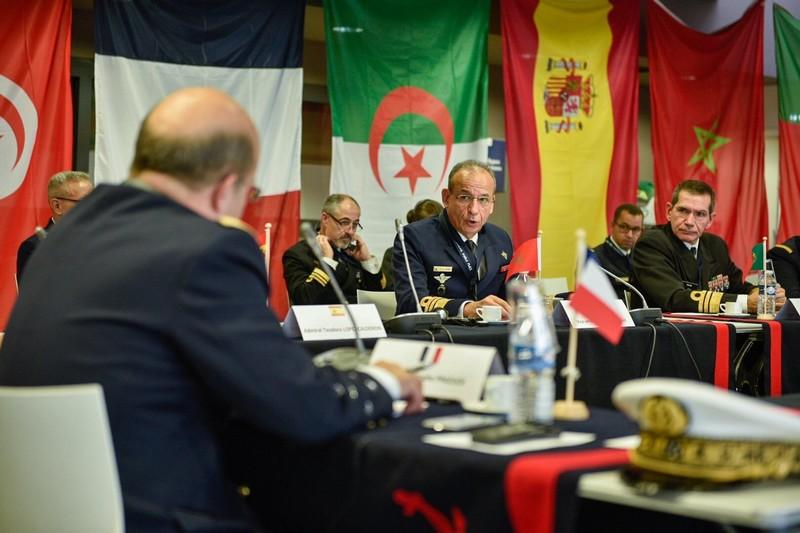 القوات البحرية المغربية تشارك في تدبير الأزمات الأمنية بقاعدة تولون الفرنسية