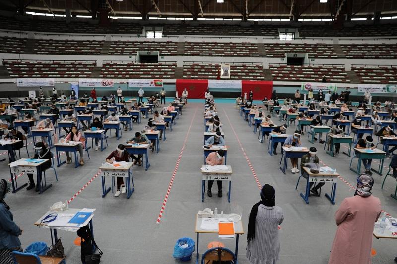 أمزازي: أزيد من نصف مليون تلميذ يجتازون امتحانات البكالوريا في ظل الطوارئ الصحية