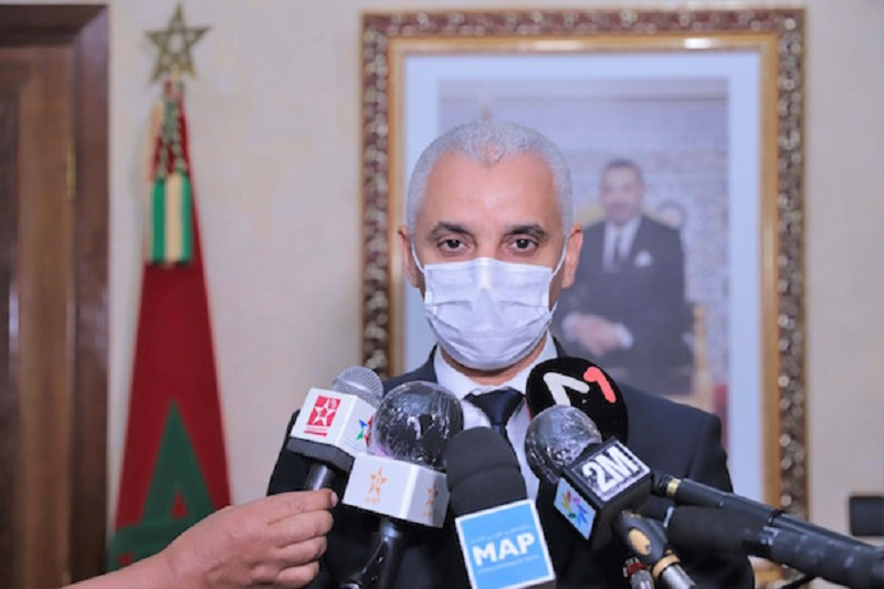 آيت الطالب: الإجراءات الاستباقية التي أطلقها الملك جعلت الحالة الوبائية مستقرة