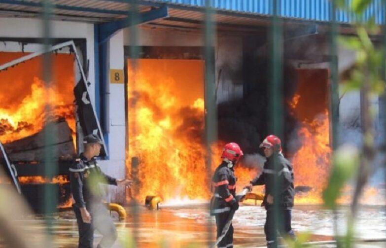 3 ضحايا في انفجار وحدة صناعية متخصصة في البتروكيماويات بالمحمدية