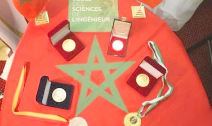 طلبة مغاربة يتوجون بالجائزة الكبرى و04 ميداليات ذهبية بـ'أسبوع الابتكار في أفريقيا'