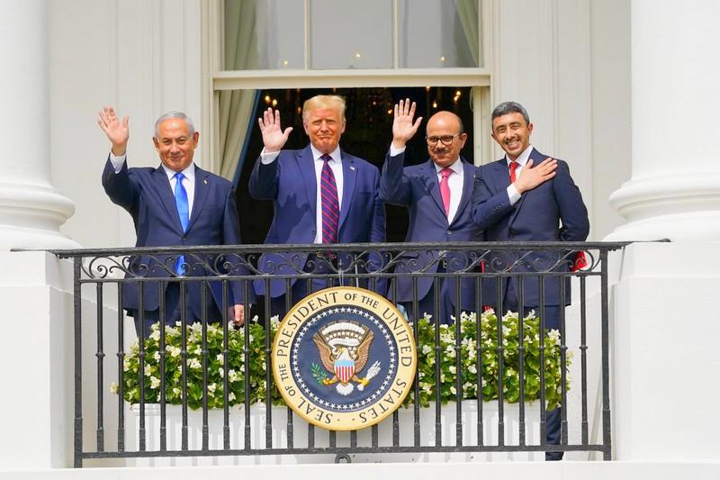 """برعاية ترامب.. توقيع """"اتفاق السلام"""" بين الإمارات والبحرين وإسرائيل بواشنطن"""