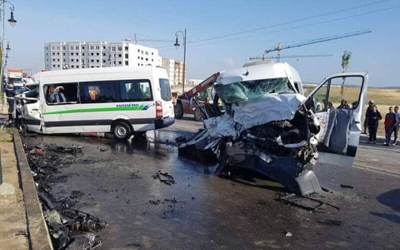 حصيلة حوادث السير في أسبوع | وفاة 17 مغربياً وإصابة 1810 بجروح داخل المدن