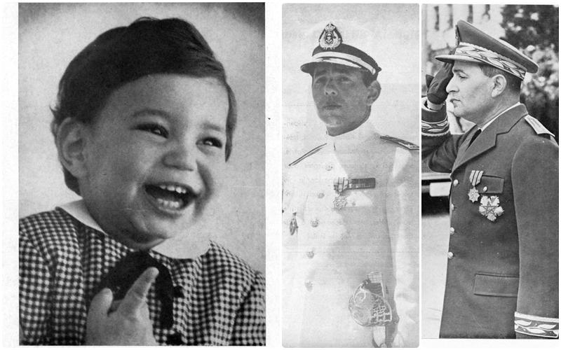 من الأرشيف. صور نادرة للملك محمد السادس والراحلين الحسن الثاني ومحمد الخامس