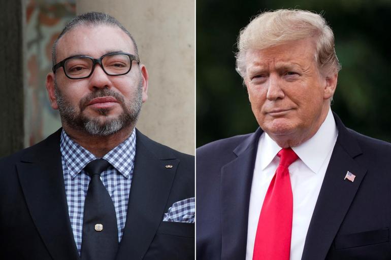 بينها فتح قنصلية بالداخلة.. تفاصيل الاتصال الهاتفي بين الملك محمد السادس والرئيس ترامب