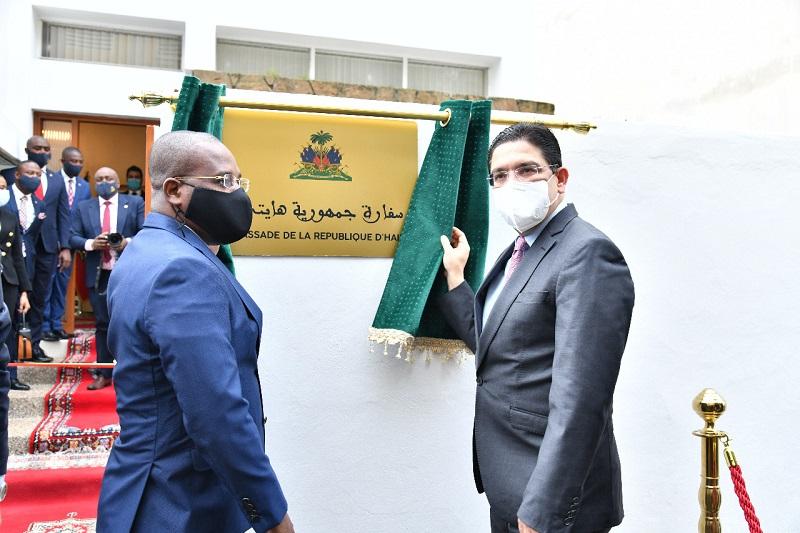 """المكاسب الدبلوماسية مستمرة.. """"هايتي"""" تدشن سفارتها بالرباط. وستفتتح قنصليتها بالداخلة الإثنين"""