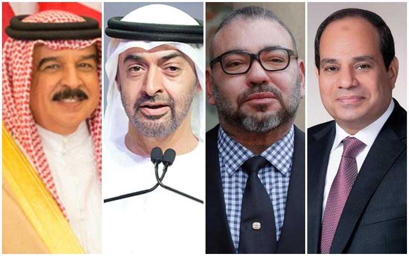 """بعد استئناف العلاقات مع اسرائيل.. قادة دول عربية يثمنون قرار المغرب ويصفونه بـ""""التاريخي"""""""